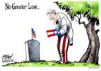 Cartoonist Gary Varvel  Gary Varvel's Editorial Cartoons 2014-05-26 armed forces