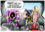 Cartoonist Gary Varvel  Gary Varvel's Editorial Cartoons 2014-05-30 basketball