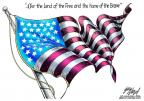 Cartoonist Gary Varvel  Gary Varvel's Editorial Cartoons 2014-07-04 flag