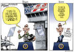 Cartoonist Gary Varvel  Gary Varvel's Editorial Cartoons 2015-02-12 George W. Bush congress