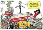 Cartoonist Gary Varvel  Gary Varvel's Editorial Cartoons 2015-05-31 Obama health care