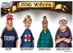 Cartoonist Gary Varvel  Gary Varvel's Editorial Cartoons 2016-10-31 undecided voter