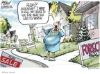 Cartoonist Gary Varvel  Gary Varvel's Editorial Cartoons 2007-09-20 property tax