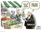 Cartoonist Gary Varvel  Gary Varvel's Editorial Cartoons 2008-05-16 fruit