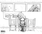 Cartoonist Karl Wimer  Karl Wimer Financial Cartoons 2008-11-04 2008 election