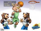Cartoonist Karl Wimer  Karl Wimer Financial Cartoons 2012-03-16 basketball