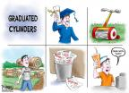 Cartoonist Karl Wimer  Karl Wimer Financial Cartoons 2012-05-18 graduation