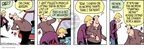 Cartoonist Jim Borgman Jerry Scott  Zits 2009-01-14 muscle